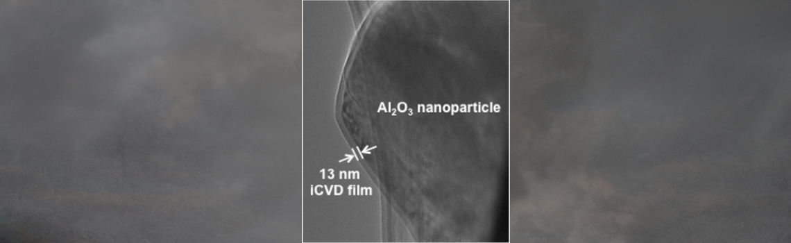 Conformal, nanoscale, pin-hole free polymer films